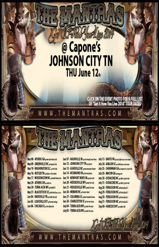 Capone's in Johnson City, TN 06/12/14