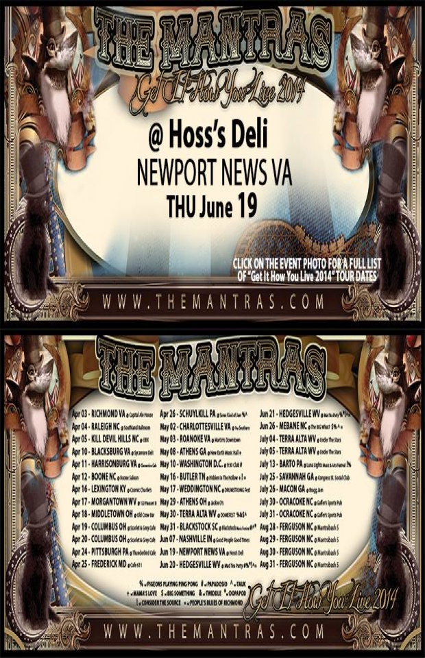Hoss's Deli 06/19/14 in Newport News, VA