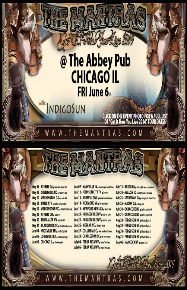 The Abbey Pub in Chicago, IL 06/06/14