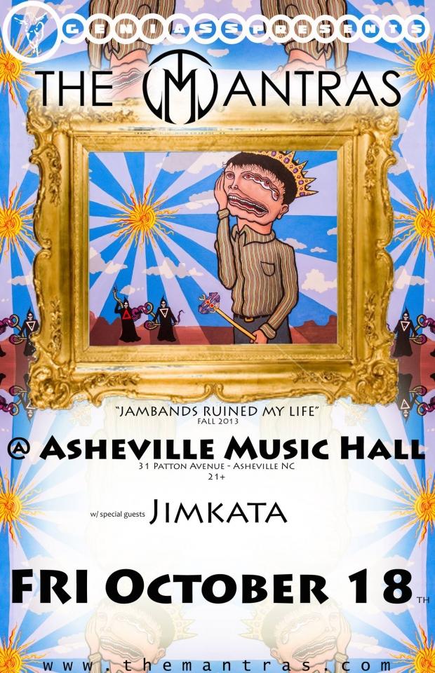 Asheville Music Hall with Jimkata 10/18/13