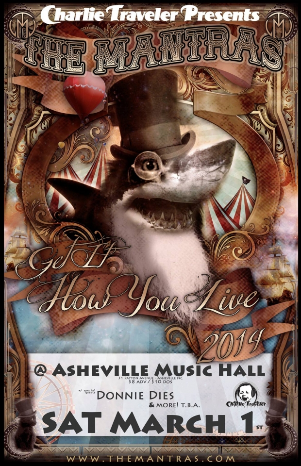 Asheville Music Hall in Asheville, NC 03/01/14