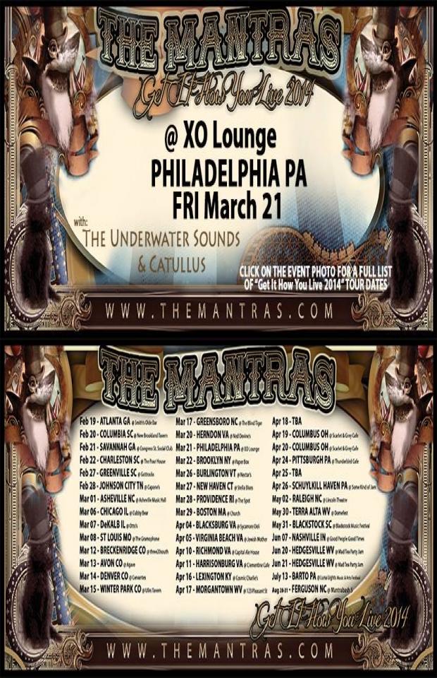 XO Lounge in Philadelphia, PA 03/21/14