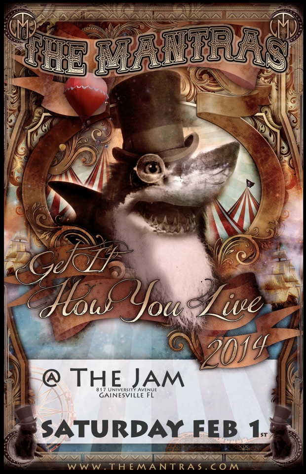 The Jam in Gainesville, FL 02/01/14