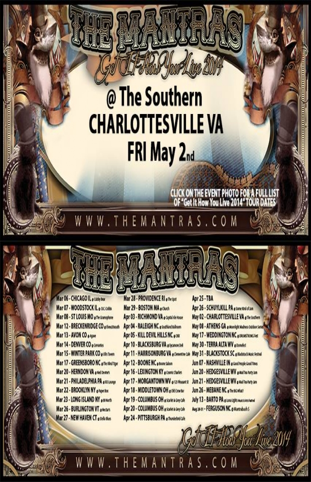 The Southern in Charlottesville, VA 05/02/14