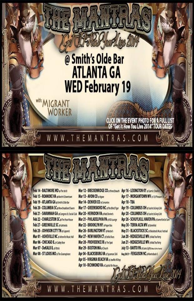 Smith's Olde Bar in Atlanta, GA 02/19/14