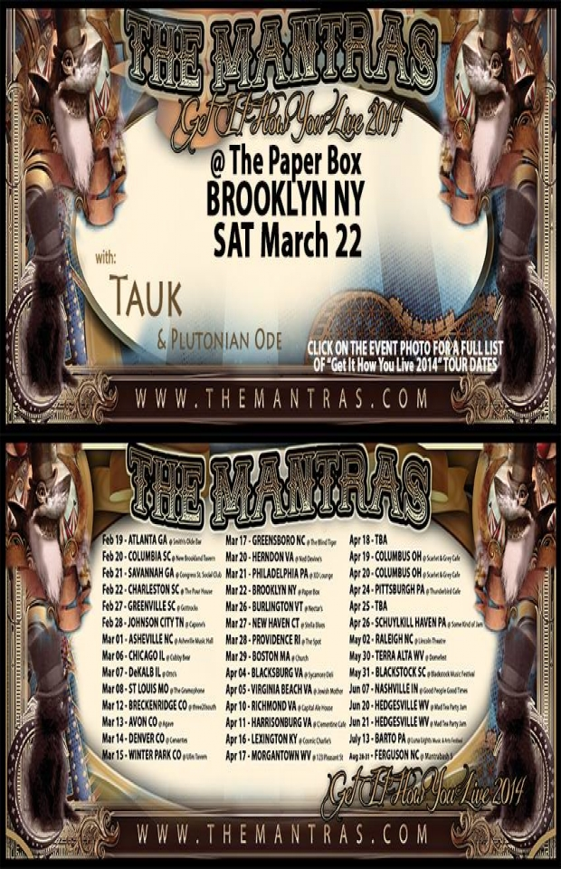The Paper Box in Brooklyn NY 03/22/14