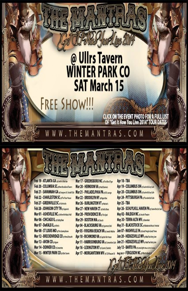 Ullrs Tavern in Winter Park, CO 03/15/14