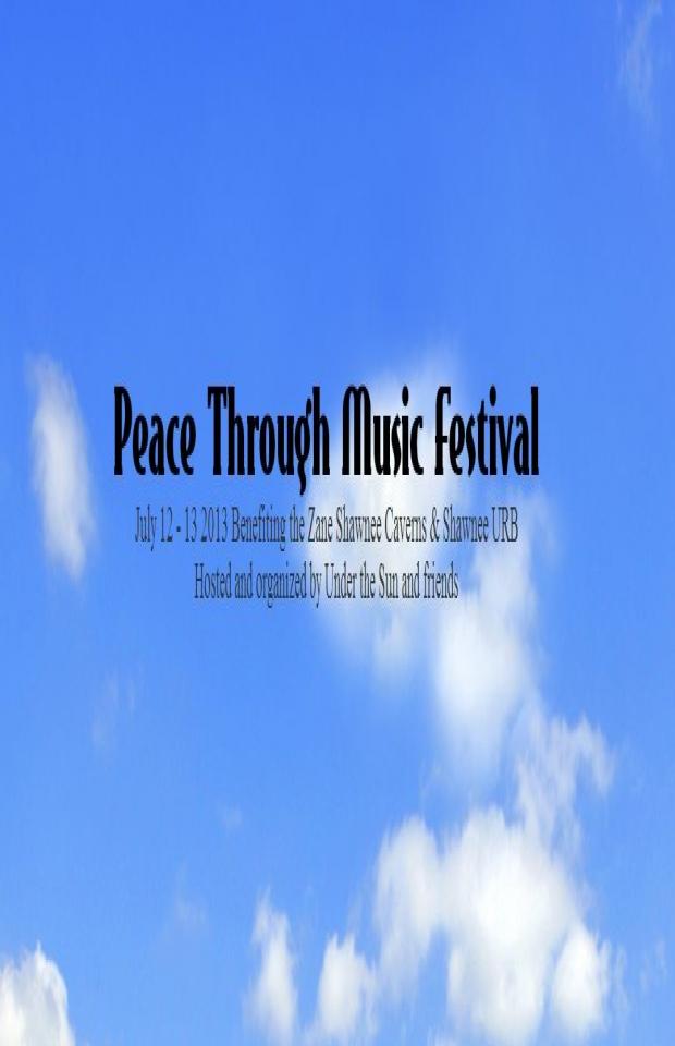 Peace Through Music Festival 07/12/13