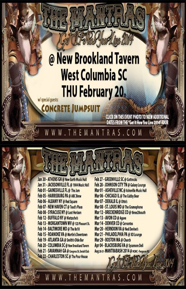 New Brookland Tavern in Columbia, SC 02/20/14