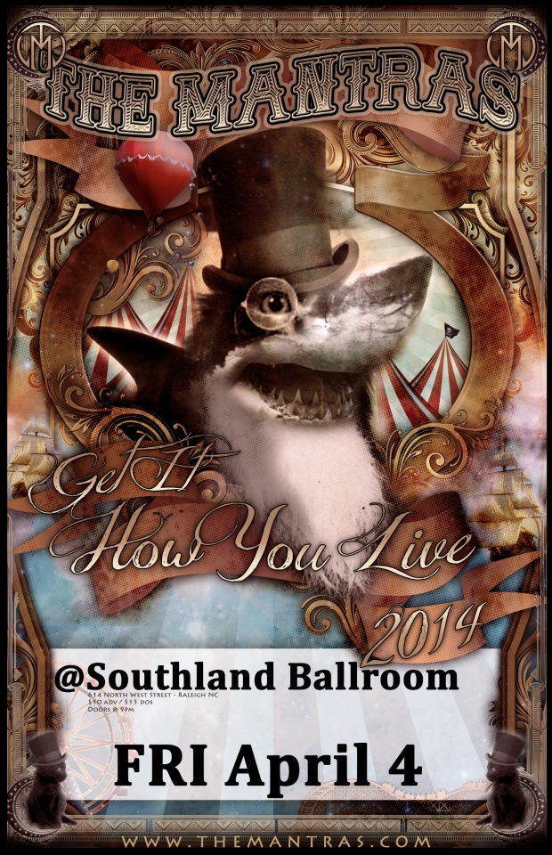 Southland Ballroom 04/04/14 in Raleigh, NC with PBR